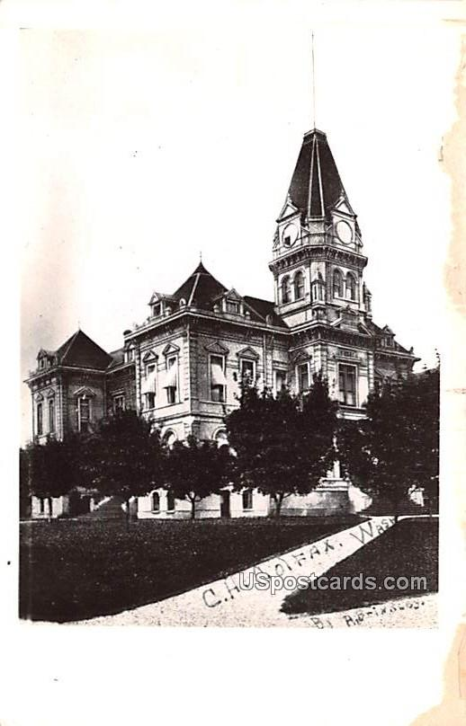 Court House - Colfax, Washington WA Postcard