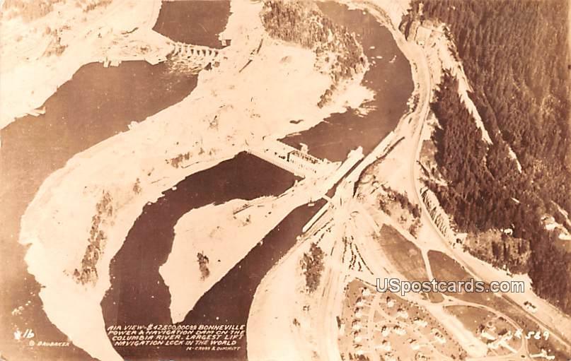 Air View - Columbia River, Washington WA Postcard