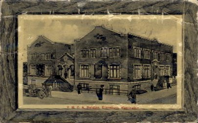 Y.M.C.A. Building - Ellensburg, Washington WA Postcard