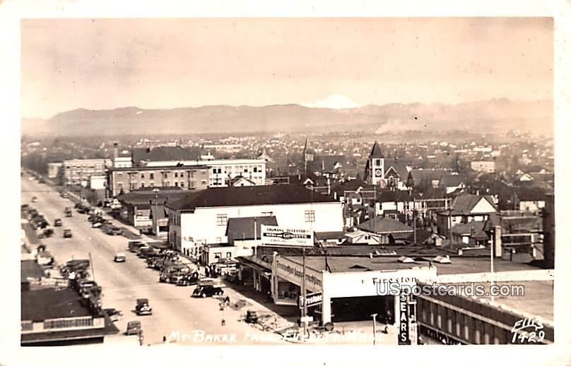 Mount Baker - Everett, Washington WA Postcard