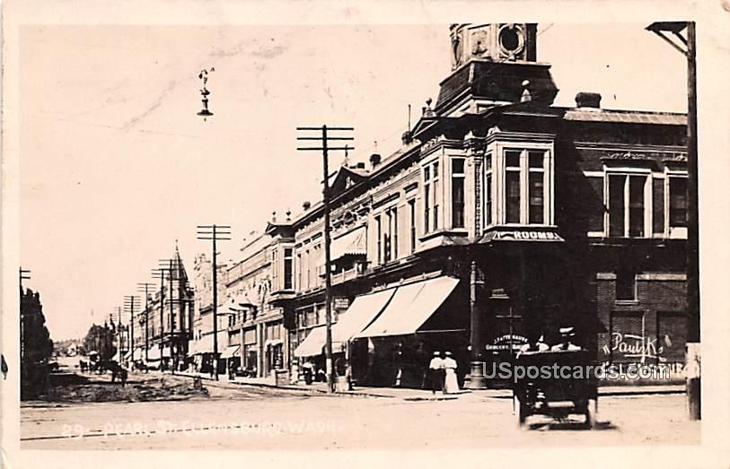Pearl Street - Ellensburg, Washington WA Postcard
