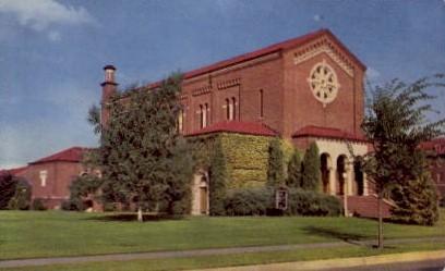 Fort Lewis Chapel - Washington WA Postcard