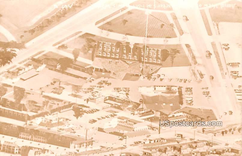 Aerial View - Fort Lewis, Washington WA Postcard