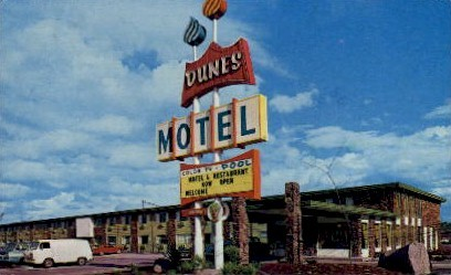 Dunes Motel - Kent, Washington WA Postcard