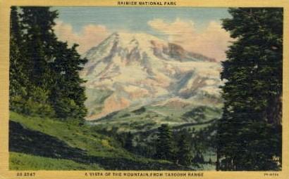 Tatoosh Range - Mt. Rainer National Park, Washington WA Postcard