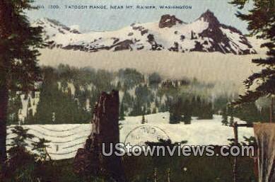 Tatoosh Range - Mt Rainier, Washington WA Postcard