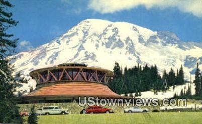 Mt. Rainier National Park, WA     ;     Mt. Rainier National Park, Washington Postcard