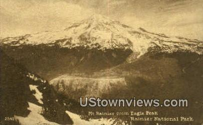 Eagle Peak - Rainier National Park, Washington WA Postcard