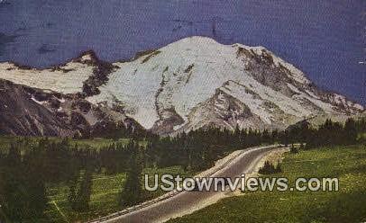 Emmons Glacier - Mt Rainier, Washington WA Postcard