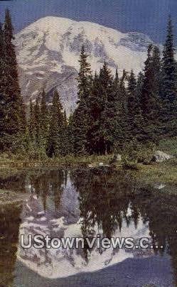 Fairy Pool - Mt Rainier, Washington WA Postcard