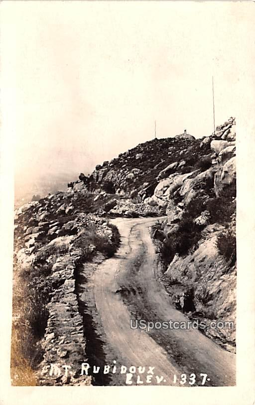 Mountain Scene - Mount Rubidoux, Washington WA Postcard