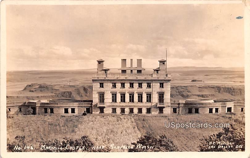 Maryhill Castle - Washington WA Postcard