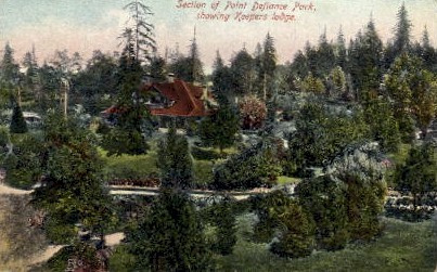 Keepers Lodge - Point Defiance Park, Washington WA Postcard