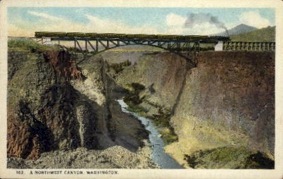 Northwest Canyon - Misc, Washington WA Postcard