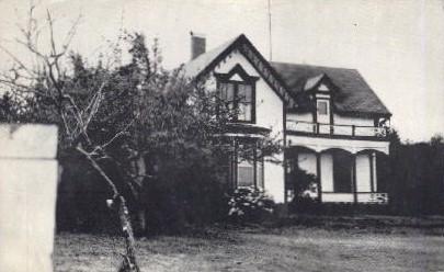 Pioneer Home - Oysterville, Washington WA Postcard