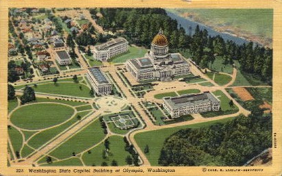 Washington State Capitol Building - Olympia Postcard