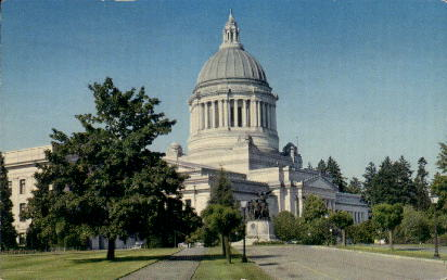 Legislative Building - Olympia, Washington WA Postcard