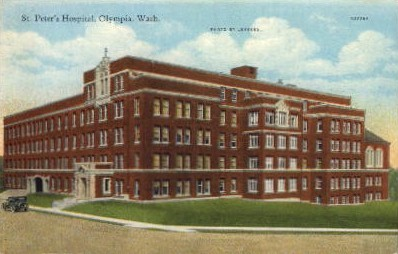 St. Peter's Hospital - Olympia, Washington WA Postcard