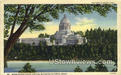 Washington State Capitol - Olympia Postcard