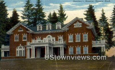 Governor's Mansion - Olympia, Washington WA Postcard