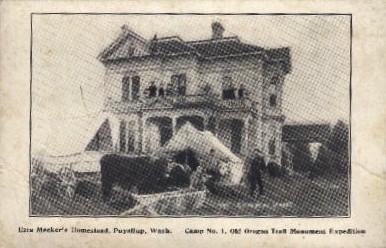 Homestead - Puyallup, Washington WA Postcard