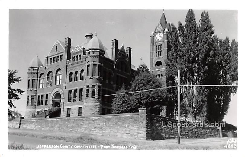 Jefferson County Courthouse - Port Townsend, Washington WA Postcard