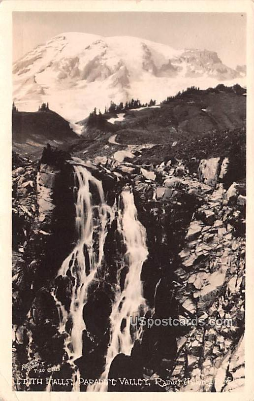 Edith Falls - Paradise Valley, Washington WA Postcard