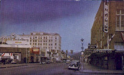 Wishkah Street - Aberdeen, Washington WA Postcard