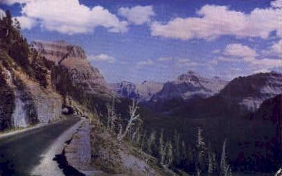 Going-to-the-Sun Highway - Glacier National Park, Washington WA Postcard