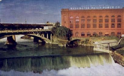 Washington Water Power Co - Spokane Postcard
