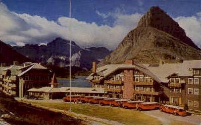 Many Glacier Hotel - Glacier National Park, Washington WA Postcard