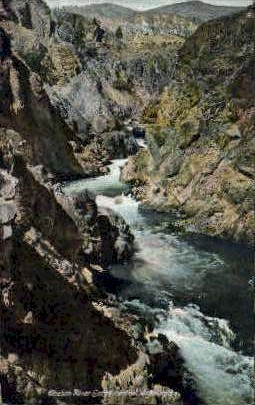 Chelan River Gorge - Misc, Washington WA Postcard