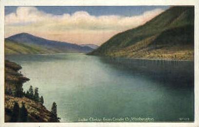 Lake Chelan, Washington Postcard