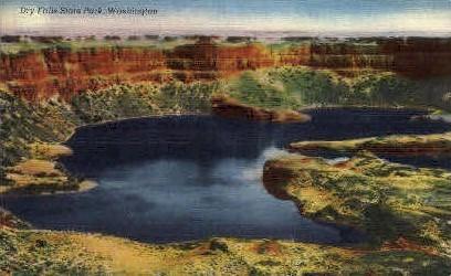 Dry Falls State Park, Washington Postcard