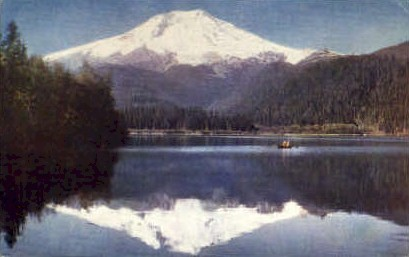 Mt Baker - Misc, Washington WA Postcard