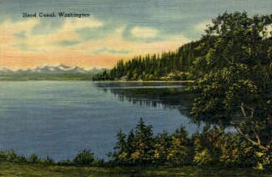 Hood Canal - Misc, Washington WA Postcard