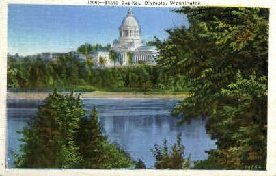 State Capitol Building - Olympia, Washington WA Postcard
