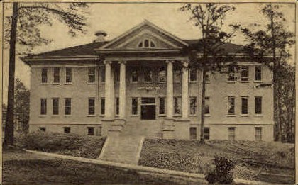 Columbia Hall - Misc, Washington WA Postcard
