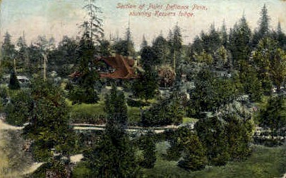 Point Defiance Park - Misc, Washington WA Postcard