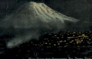 Mount Tacoma - Washington WA Postcard
