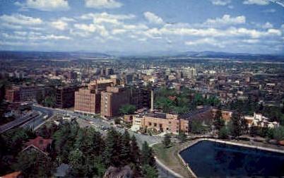 View - Spokane, Washington WA Postcard