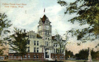 Yakima County Court House - Washington WA Postcard