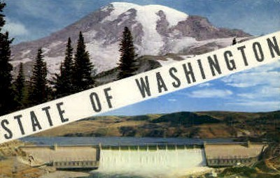 Misc, Washington Postcard