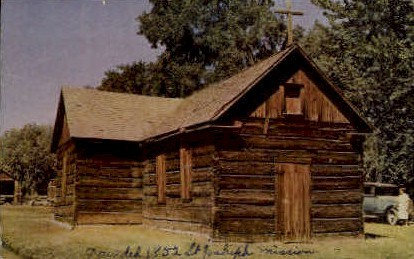 St. Josephs Mission - Yakima, Washington WA Postcard