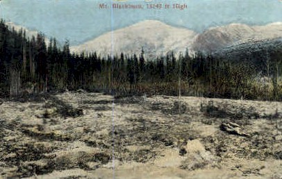 Mt. Blackburn - Misc, Washington WA Postcard