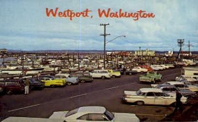 Westport, Washington Postcard