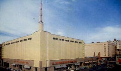 The New Shopping Center Building - Spokane, Washington WA Postcard
