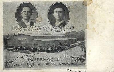 Hart-Magann Tabernacle - Tacoma, Washington WA Postcard