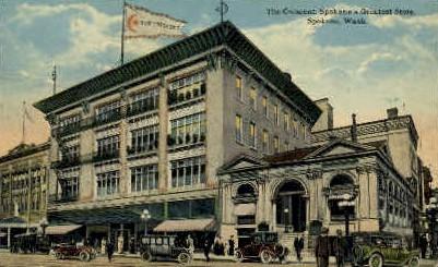 The Crescent  - Spokane, Washington WA Postcard