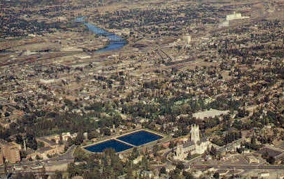 St. Johns Episcopal Church - Spokane, Washington WA Postcard